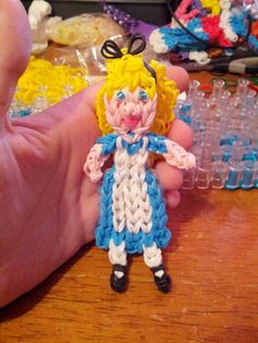 Alice in wonderland. Credit tutorialsbya for dress..