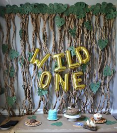 Cover your tables with craft paper and write on it with chalk pen for a cute display and to make cleanup super easy!