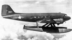 C-47 DAKOTA with Amphibious Floats