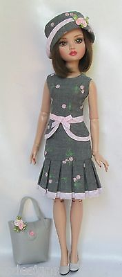 """ELLOWYNE'S PINK-AND-PRETTY 8-pc. MIXABLE WARDROBE. FOR 16"""" ELLOWYNE, ETC., by ssdesigns via eBay SOLD 6/27/15 $89.99"""