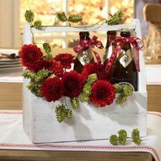 Oktoberfest-Blumendeko