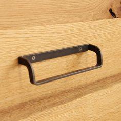 Convenient Advice In DIY Black Smith Metal Working - An Intro - Wood And Metal Metal Projects, Welding Projects, Gate Design, Wood Design, Modern Design, Cupboard Handles, Door Handles, Door Pulls, Aesthetic Design