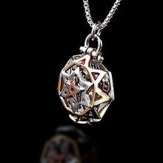 5 Metals Tikun Hava NecklaceKabbalah Necklace for Love and Relationship