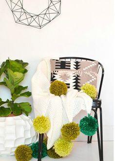 32 Wonderful Pompom Décor Ideas   Home Design Ideas, DIY, Interior Design And More!
