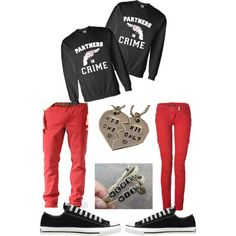 matching couple outfits polyvore - Google Search