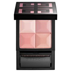 Shop Givenchy's Le Prisme Blush Powder Blush Update at Sephora. These palettes feature four elegant shades that deliver natural radiance and fresh color. Cheek Makeup, Face Makeup, Smoky Eyes, Best Settings, Summer Skin, Summer Beauty, Setting Powder, Face Powder, Eye Liner