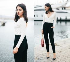 TWO TONED BY DOINA C., 20 YEAR OLD FASHION BLOGGER FROM THE GOLDEN DIAMONDS, RUSSIAN FEDERATION