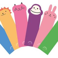 Printable Animal Bookmarks. Great for kids!