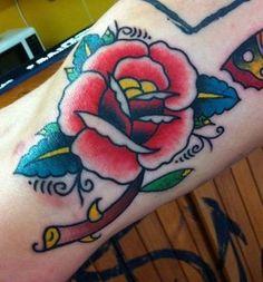 Forbidden Fruit Apple Fantasy Makers Tattoo Tattoos Rat-Tat-Too Halloween Acces