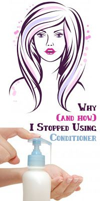 YOWZAlicious: Why (and how) I Stopped Using Conditioner