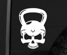 Crossfit Skull Kettlebell Car Laptop Decal Workout Equipment Exercise Fitness, Die cut vinyl decal for windows, cars, trucks, tool boxes, laptops, MacBook - virtually any hard, smooth surface - http://www.exercisejoy.com/crossfit-skull-kettlebell-car-laptop-decal-workout-equipment-exercise-fitness-die-cut-vinyl-decal-for-windows-cars-trucks-tool-boxes-laptops-macbook-virtually-any-hard-smooth-surface/fitness/