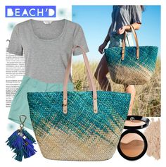 """""""BEACH'D"""" by gaby-mil ❤ liked on Polyvore featuring Balmain, Miss Selfridge, Eve Lom and Giorgio Armani"""