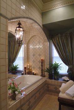 Fabulous bathroom! | Elle Decor ᘡղbᘠ -▇ #Home #Elegant #Design #Decor via - Christina Khandan on IrvineHomeBlog - Irvine, California ༺ ℭƘ ༻