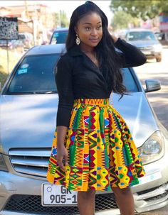 How to Rock African Print Styles to Lectures with Swag – Africavarsities African Inspired Fashion, Latest African Fashion Dresses, African Dresses For Women, African Print Fashion, African Attire, Ankara Fashion, Africa Fashion, Ghanaian Fashion, African Tops For Women