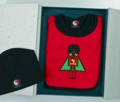 6d2815d0df3 Superhero baby-shower keepsake gift box set Our Kids
