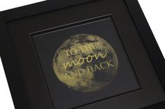Real Gold Foil Print With Optional Frame To by SimplyBeautifulDes