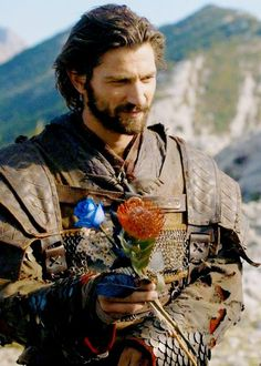 Michiel Huisman as Daario Naharis in Game of Thrones