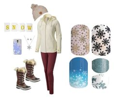 """Guess the Christmas Song - Jamberry Nails Game"" by kspantonjamon on Polyvore featuring Mountain Hardwear, Bling Jewelry, Billabong, SOREL and Casetify"
