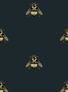 Napoleon Bee, a wallpaper design on velvet from Timorous Beasties, Glasgow. Their designs are spectacular, experimental, beautiful, rebellious, political and Scottish