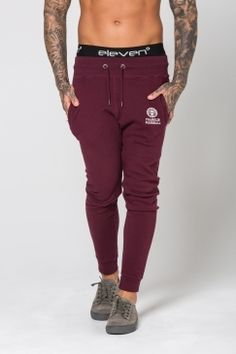 Franklin & Marshall - Classic Skinny Fit Joggers - Bordeaux