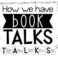 Free Poster Set on Book Talks and the importance of students learning to have conversations about books they read. The Reading Strategies Book, Reading Response, Reading Skills, Teaching Reading, Guided Reading, Learning, Reading Logs, Reading Resources, Reading Comprehension