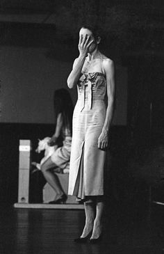 Pina Bausch by William Yang, 1982.