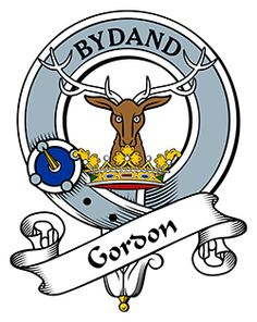 Gordon Family Crest apparel, Gordon Coat of Arms gifts