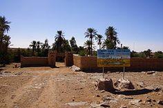 L'Oasis sacrée d'oum Lâalag in the Iriqui National Park, Morocco