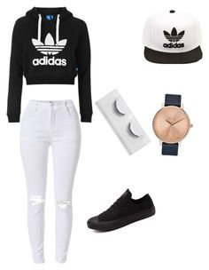 """Untitled #31"" by amberwilliams22 on Polyvore featuring Topshop, Converse, adidas and Nixon"