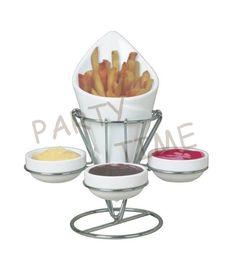 Держатель для картофеля фри и соусов