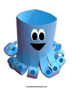 Craft summer - octopus