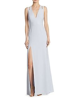 a710cd725b9a Halston Heritage - Cut-Out Gown