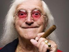 Jimmy Savile I'll have the rabbit followed by the lamb