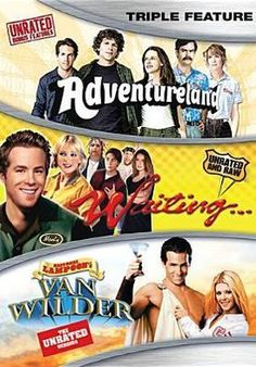 Adventureland/Waiting.../National Lampoon's Van Wilder