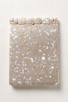 Splatter Paint Journal by: Anthropologie
