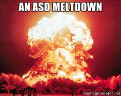 ASD meltdown meme
