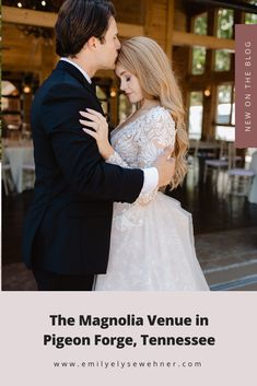 The Magnolia Venue in Pigeon Forge, Tennessee by Emily Wehner Photography, Tennessee wedding photographer Wedding Photography Poses, Wedding Photography Inspiration, Photographer Wedding, Wedding Summer, Diy Wedding, Wedding Decor, Wedding Reception, Dream Wedding, Wedding Flowers