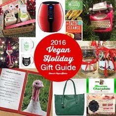 A Vegan Holiday Gift Guide #vegan #vegetarian #glutenfree #food #GoVegan #organic #healthy #RAW #recipe #health #whatveganseat