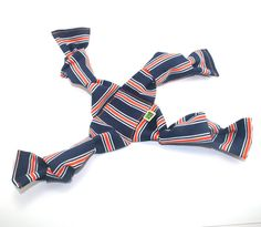 Dog Toy Tug  Striped by wagsandwiggles on Etsy