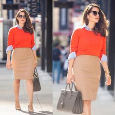 New blog post up on Corporate Catwalk! Love this camel skirt for spring. Easy to wear with bright colors or a basic white shirt to the office. Get all the details here  @liketoknow.it www.liketk.it/1abF3 #liketkit |  by @annaalexia