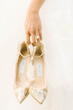 Gold sparkly wedding