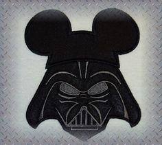 Disney Shirt Darth Vader Mickey Star Wars Shirt  Fun by MouseKouture1