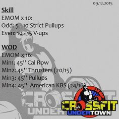 #wod #cftundertown #crossfit #workout #conditioning #barbells #strength #gymnasticswod #skill #roguefitness #xeniosusa #netintegratori #supportyourlocalbox