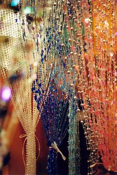Hanging Beads @ Earth to Old City by Todd Baker