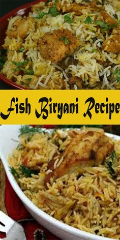 Fish biryani is an slow recipe to brand together with it has a really unique sense of savor compared to other biryanis similar Chicken Biryani or Mutton Prawn Biryani Recipes, Indian Prawn Recipes, Fish Biryani, Indian Foods, Easy Rice Recipes, Fish Recipes, Seafood Recipes, Cooking Recipes, Healthy Recipes