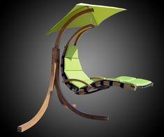 Outdoor Hanging Sky Swing Chair | DudeIWantThat.com
