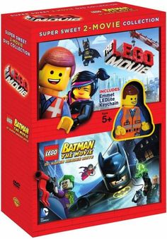 LEGO Super Sweet 2-Movie Collection [The LEGO Movie and LEGO Batman: The Movie]