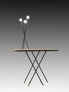 PIED DE LAMPE LUM/LAM/GRA/5 - Atelier Laurence Landon
