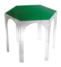TW Hexagonal Arch Table - Product Image