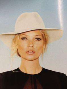 Kate Moss. natural & contoured & tan. Harper's Bazaar june july 2012